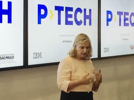 Centro Paula Souza e IBM lançam  P-Tech em encontro na Capital