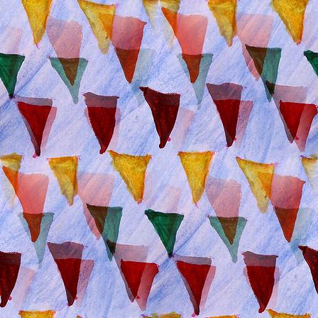 Multicolored Triangles