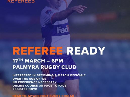Referee Ready Course