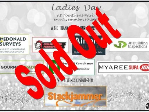 Ladies day sold out