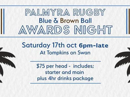 BLUE & BROWN BALL 2020 AWARDS NIGHT