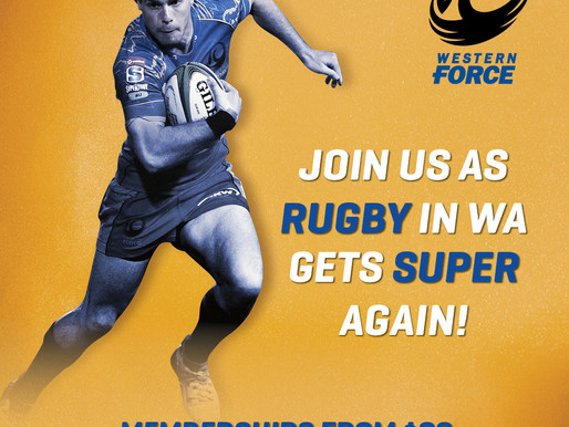 Western Force Community Rugby Club Membership Competition