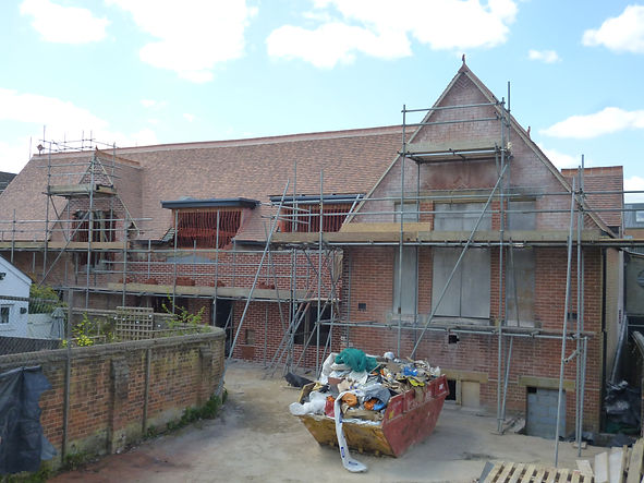 AHP Architects & Surveyors Ltd Sevenoaks Lichfield Seely Developments old St John's School Tunbridge Wells resdiential development refurbishment