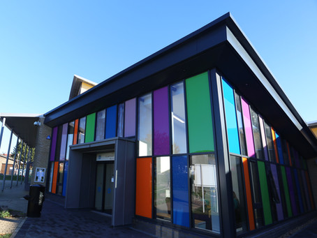 A bright new welcome for Claycots School