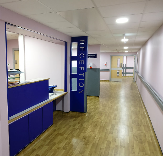 AHP Architects & Surveyors Ltd Sevenoaks Lichfield Watford Hospital Endoscopy Unit