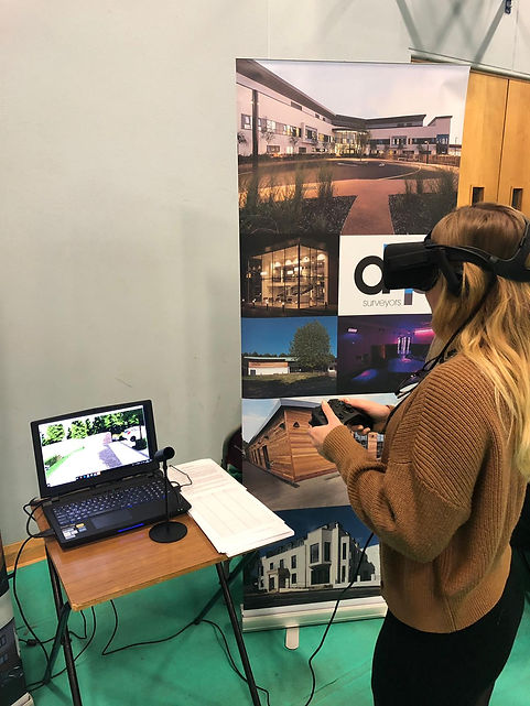 AHP Architects, Architect Lichfield, Architect Sevenoaks, Chase Terrace College, Employment Futures Expo 2018, Employment Fair, Virtual Reality