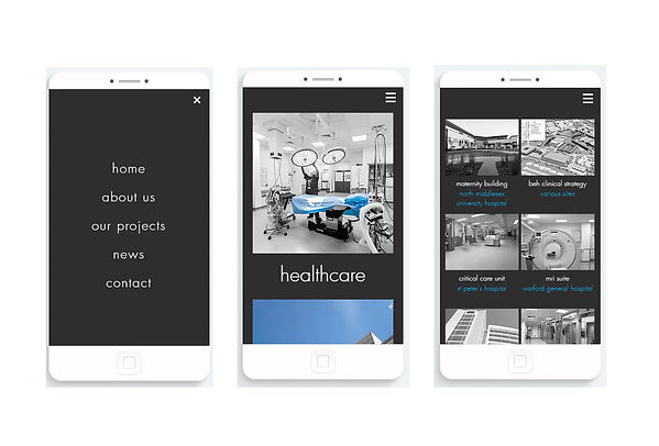 AHP Architects & Surveyors develop their new mobile website