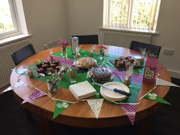AHP Architects & Surveyors Ltd Sevenoaks Lichfield Macmillan Coffee Morning