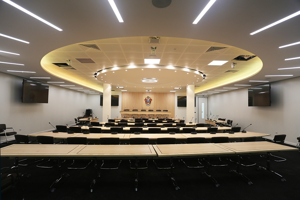 AHP Architects, Bouygues, Slough Borough Council, New office design
