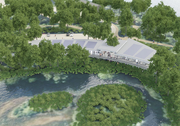 AHP Architects, Sevenoaks Nature ad Wellness Centre, Kent Wildlife, RIBA competition
