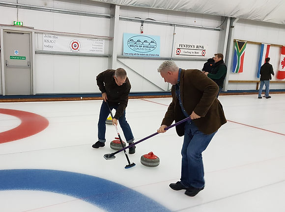 AHP Architects & Surveyors Ltd Sevenoaks Lichfield Fentons Curling Rink Christmas Party