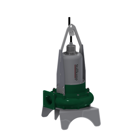 Srutų siurblys su panardinamu varikliu