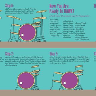 Drum Set-Up Instruction Manual