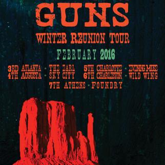 Bain Mattox & SFG | Tour Poster