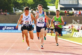 arrivée course championnats de france athlétisme angers 2019, émotions