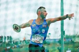 Lancer du disque/ décathlon; Championnats de France Elite d'athlétisme 2021