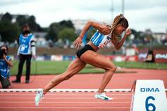 Floria Gueï; Championnats de France Elite d'athlétisme 2021