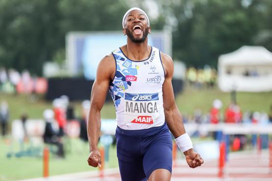 Aurel Manga; Championnats de France Elite d'athlétisme 2021