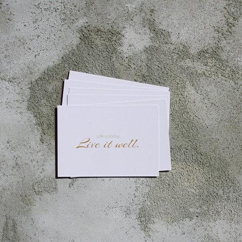 Inspiring Postcard Set