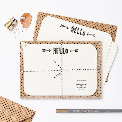 Katie Leamon 'Hello' Notecards