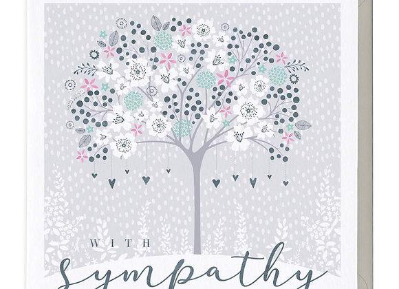 Memory Tree Sympathy Card