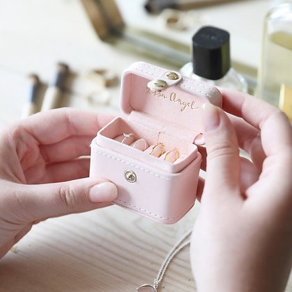 Pale Pink Ring Box
