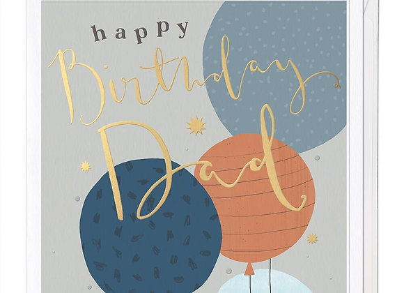 Dad Luxury Birthday Card