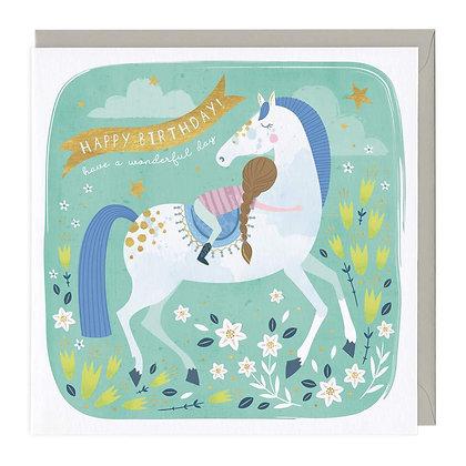 Wonderful Horse Birthday Card
