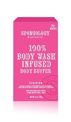 Geranium Body Buffer by Spongellé