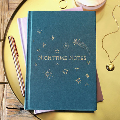 Two Way 'Morning and Night' Notebook in Green