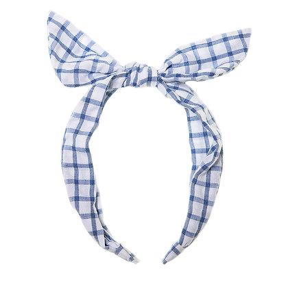 Picnic Check Tie Headband