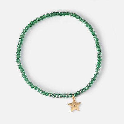 Orelia Bead Star Bracelet