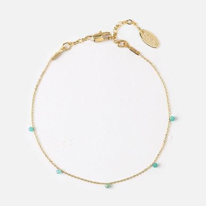 Orelia Fine Stone Chain Bracelet