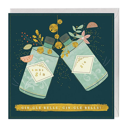 Xmas Gin Christmas Card