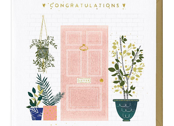 Congratulations On Your First Home Card