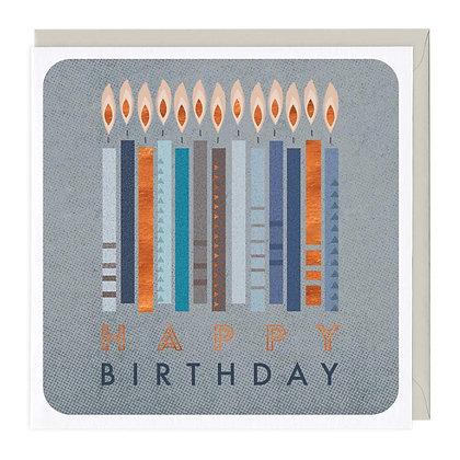 Happy Birthday Candles Card