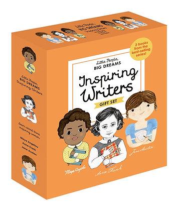 Little People, BIG DREAMS: Inspiring Writers Gift Set