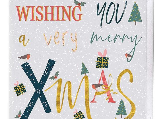 A Very Merry Xmas Christmas Card