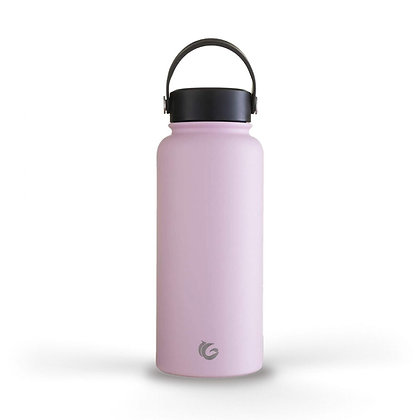 One GREEN Bottle 1 Litre Insulated