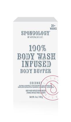 Coconut Body Buffer by Spongellé
