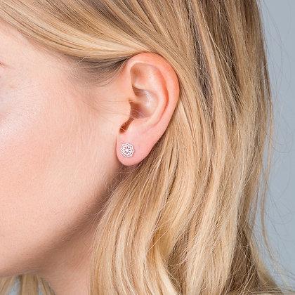 Orelia Filgree Stud Earring