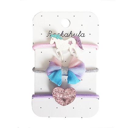 Unicorn Glitter Ponies