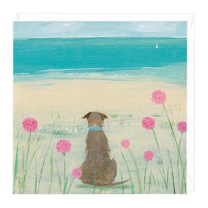 Among the Sea Pinks Card