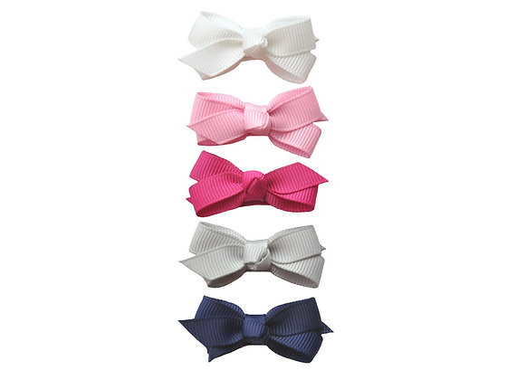 Baby Wisp - Small Snap Chelsea Bow