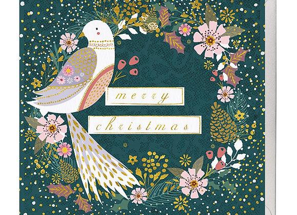 Festive Dove Christmas Card