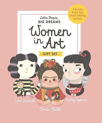 Little People, BIG DREAMS: Women in Art Gift Set