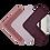 Thumbnail: Washcloths - 3 Pack - Berry