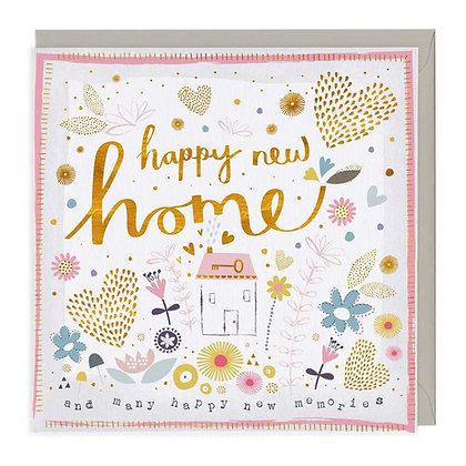 Happy New Home & Memories Card