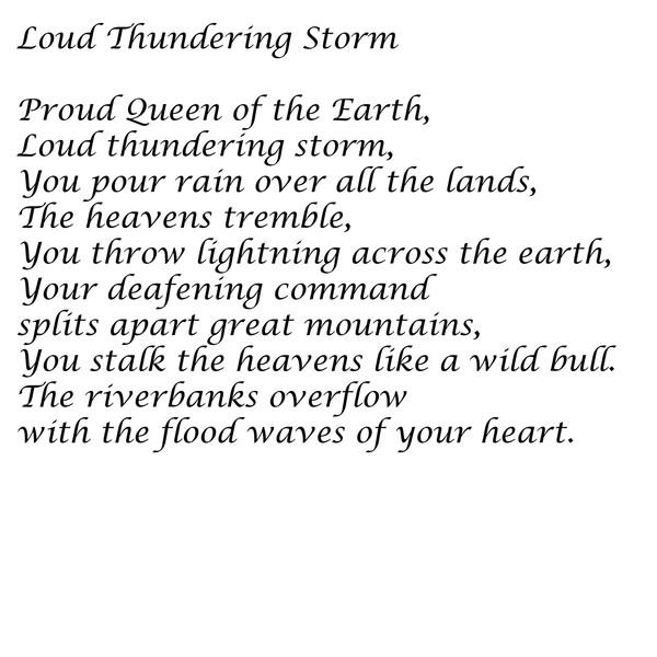 Loud Thundering Storm