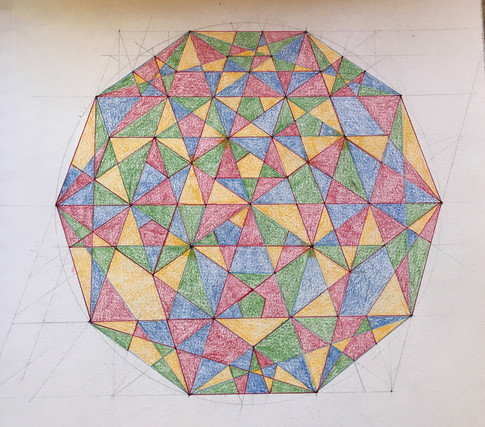 00 13 Star Decagon with Four Color Theor